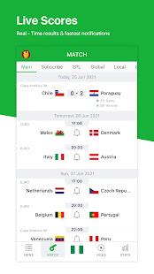 All Football - Live Scores & News for Euro 2020 3.4.0 Screenshots 1