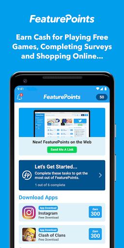 FeaturePoints: Get Rewarded 9.2.2 screenshots 1