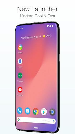 pixel 4 style launcher screenshot 1