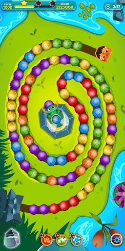 Violas Quest: Marble Blast Bubble Shooter Arcade 3.038.17 screenshots 2