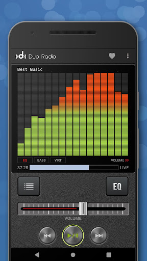 Dub Radio - Online fm radio tuner + equalizer android2mod screenshots 5