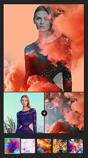 Instasquare Photo Editor: Drip Art, Neon Line Art Image 3