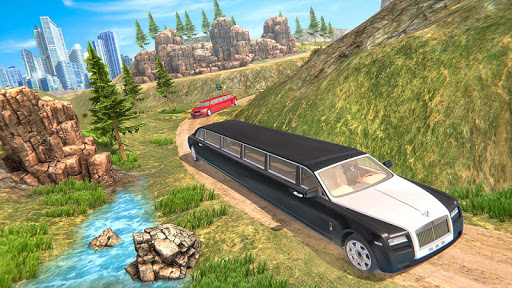 Limousine Taxi Driving Game android2mod screenshots 4