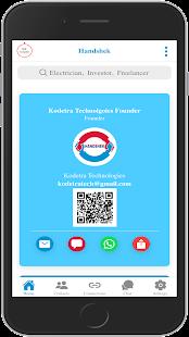 Download Handshek - Digital Business Card & Networking app For PC Windows and Mac apk screenshot 1