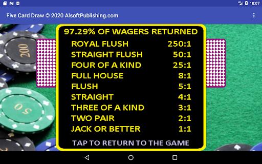 Five Card Draw Poker  screenshots 24