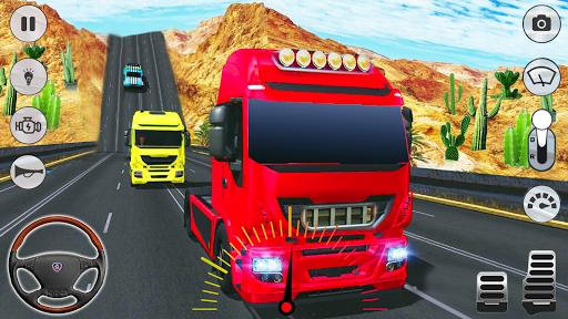 In Truck Driving: Euro new Truck 2020 1.5 screenshots 12