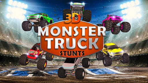 Monster Truck Stunts on Impossible Track New 2021 apktram screenshots 2