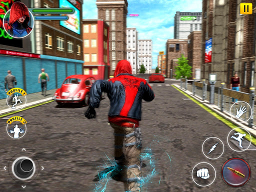 Incredible SuperHero Games : Crime City Gangster screenshots 10