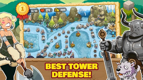 Tower Defense Realm King: Epic TD Strategy Element 8
