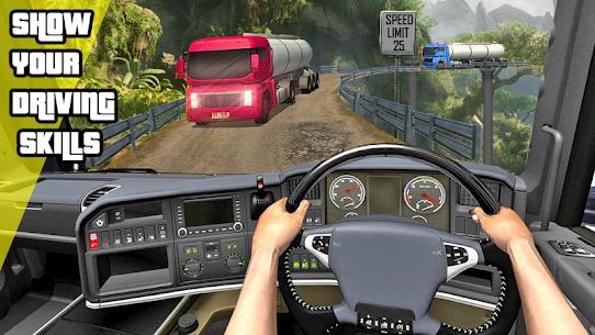 Oil Tanker Truck Driving Simulation Games 2020 8