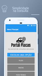 Portal Placas - Consulta de Placa, FIPE e Multa 1.5 screenshots 1
