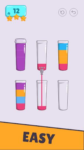 Cups - Water Sort Puzzle screenshots 10