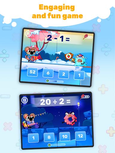 Fun Math: master math facts in cool game! 4.0.0 screenshots 8