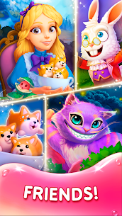 WonderMatch-Fun Match-3 Game free 3 in a row story 2.8.1 Apk + Mod 2