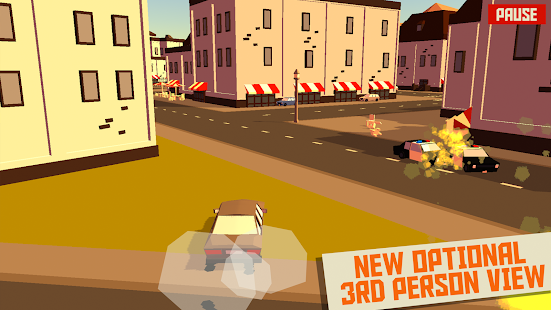 PAKO - Car Chase Simulator Screenshot