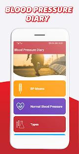 Blood pressure Tracker & BP diary 2021