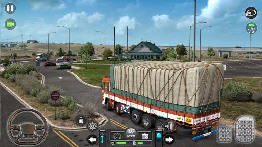 Real Mountain Cargo Truck Uphill Drive Simulator  screenshots 1