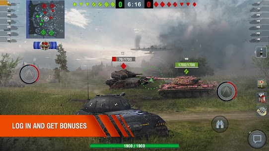 World of Tanks Blitz MMO MOD Apk 7.2.0.563 (Unlimited Gold) 2