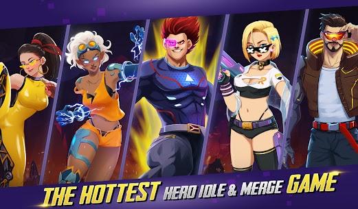 Idle Hero Z Mod Apk- Summon & Merge Cyberpunk (Unlimited Gold) 3