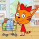 Kid-E-Cats: お買い物ゲーム! 買い物猫のゲーム & 教育動物ゲーム - Androidアプリ
