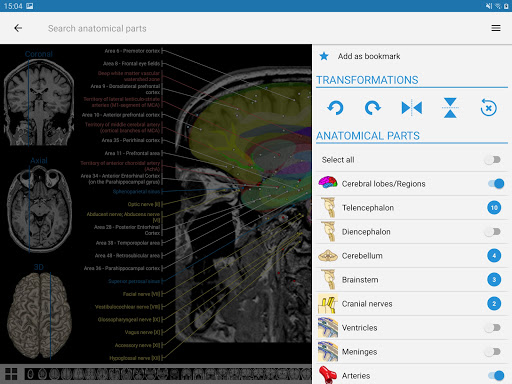e-Anatomy 4.12.12 Screenshots 13