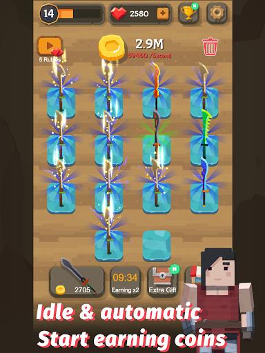 Merge Sword - Idle Blacksmith Master 1.4.4 screenshots 8