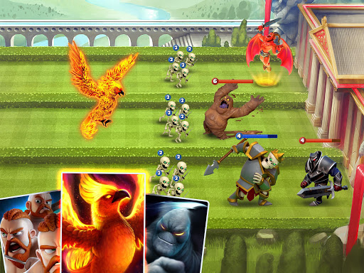 Castle Crush: Epic Battle - Free Strategy Games Apkfinish screenshots 19