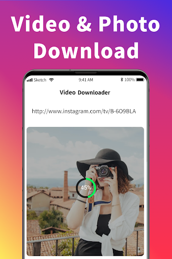 Photo & Video Downloader for Instagram #Repost IG apktram screenshots 2