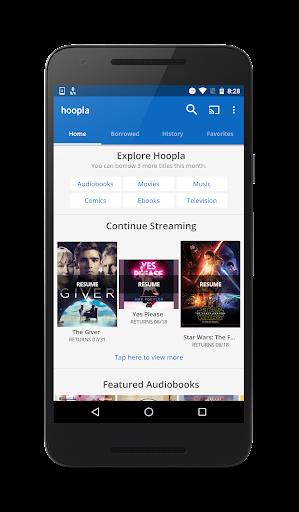hoopla Digital android2mod screenshots 1