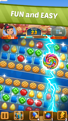 Candy Sweet Story: Candy Match 3 Puzzle  screenshots 19