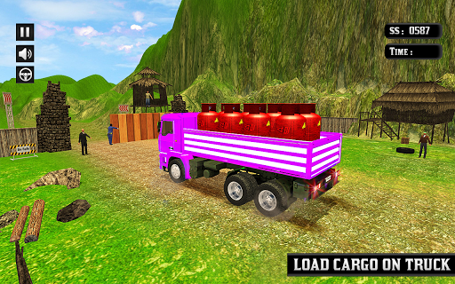 Indian Truck Mountain Drive 3D screenshots 16