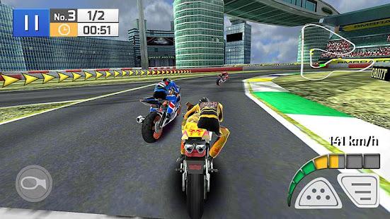 Course Réelle de Moto 3D screenshots apk mod 2