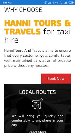 hanni tours & travels screenshot 1