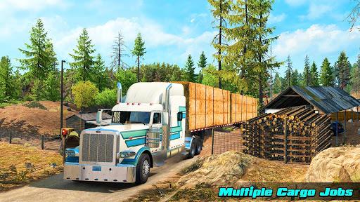 Speedy Truck Driver Simulator: Off Road Transport screenshots 9