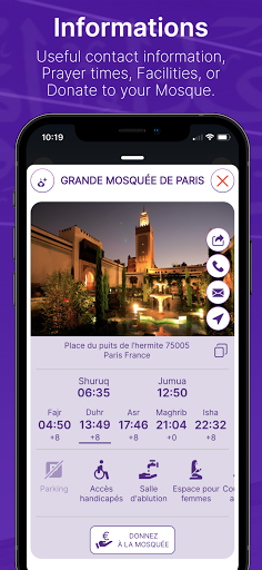 Mawaqit: Prayer times, Mosque, Qibla, Athan u0645u0648u0627u0642u064au062a apktram screenshots 3