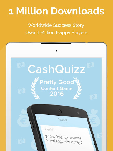 CASH QUIZZ REWARDS: Trivia Game, Free Gift Cards 3.2.18 screenshots 12