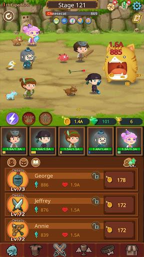 Job Hunt Heroes : Idle RPG 7.3.1 screenshots 4
