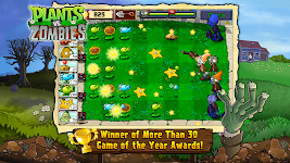 screenshot of Plants vs. Zombies FREE