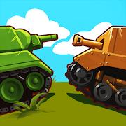 Zoo War: Battle tank games online world of war