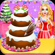 Christmas Dolls Sweet Tasty Desserts Cake Maker