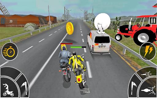 Moto Bike Attack Race 3d games 1.4.5 Screenshots 4