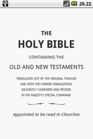 Holy Bible (KJV) 1.5 Screenshots 1
