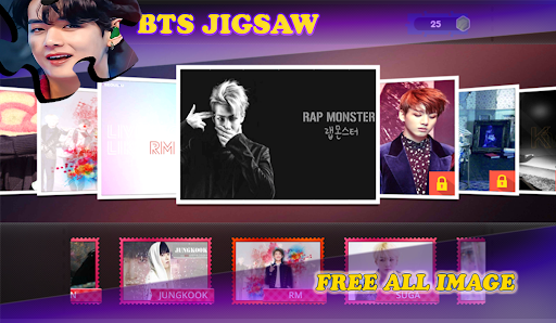 BTS Jigsaw Puzzle Games  screenshots 11