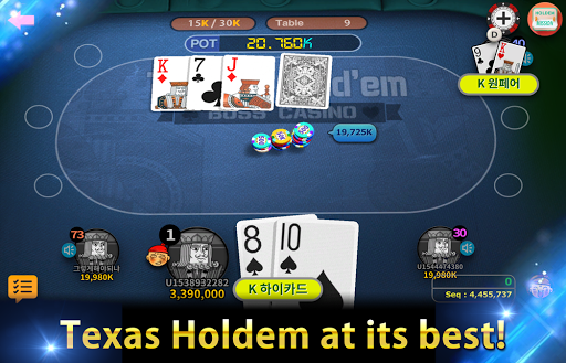 Boss Poker u2013 Texas Holdem Blackjack Baccarat  screenshots 16