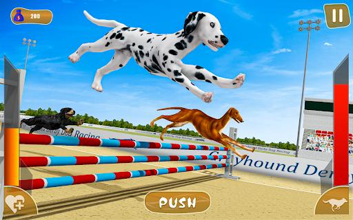 Pet Dog Simulator games offline: Dog Race Game  screenshots 1