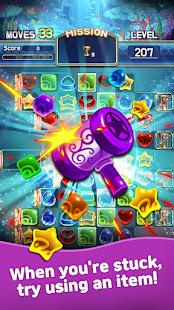 Jewel Abyss: Match3 puzzle Apkfinish screenshots 6