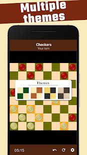Damas - free checkers