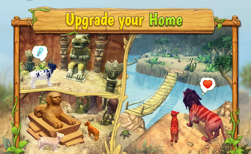 Lion Family Sim Online - Animal Simulator 4.2 screenshots 5