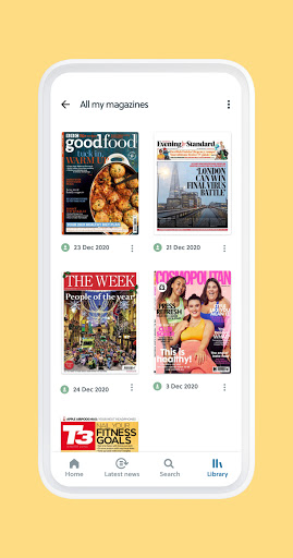 CAFEYN u2013 Online magazine subscriptions 4.10.2 Screenshots 8