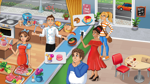 Cooking Delight Cafe Chef Restaurant Cooking Games  screenshots 2